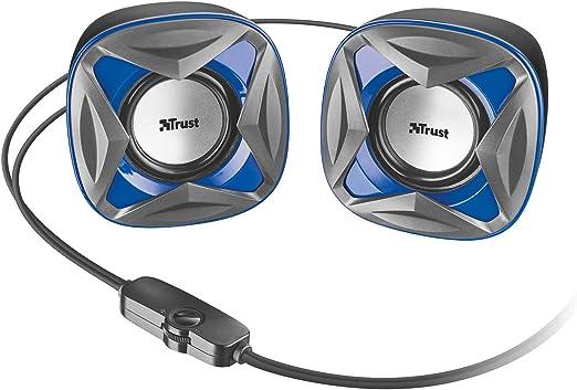 Trust Xilo - Altavoces de PC 2.0 compactos de 8 W, alimentación ...