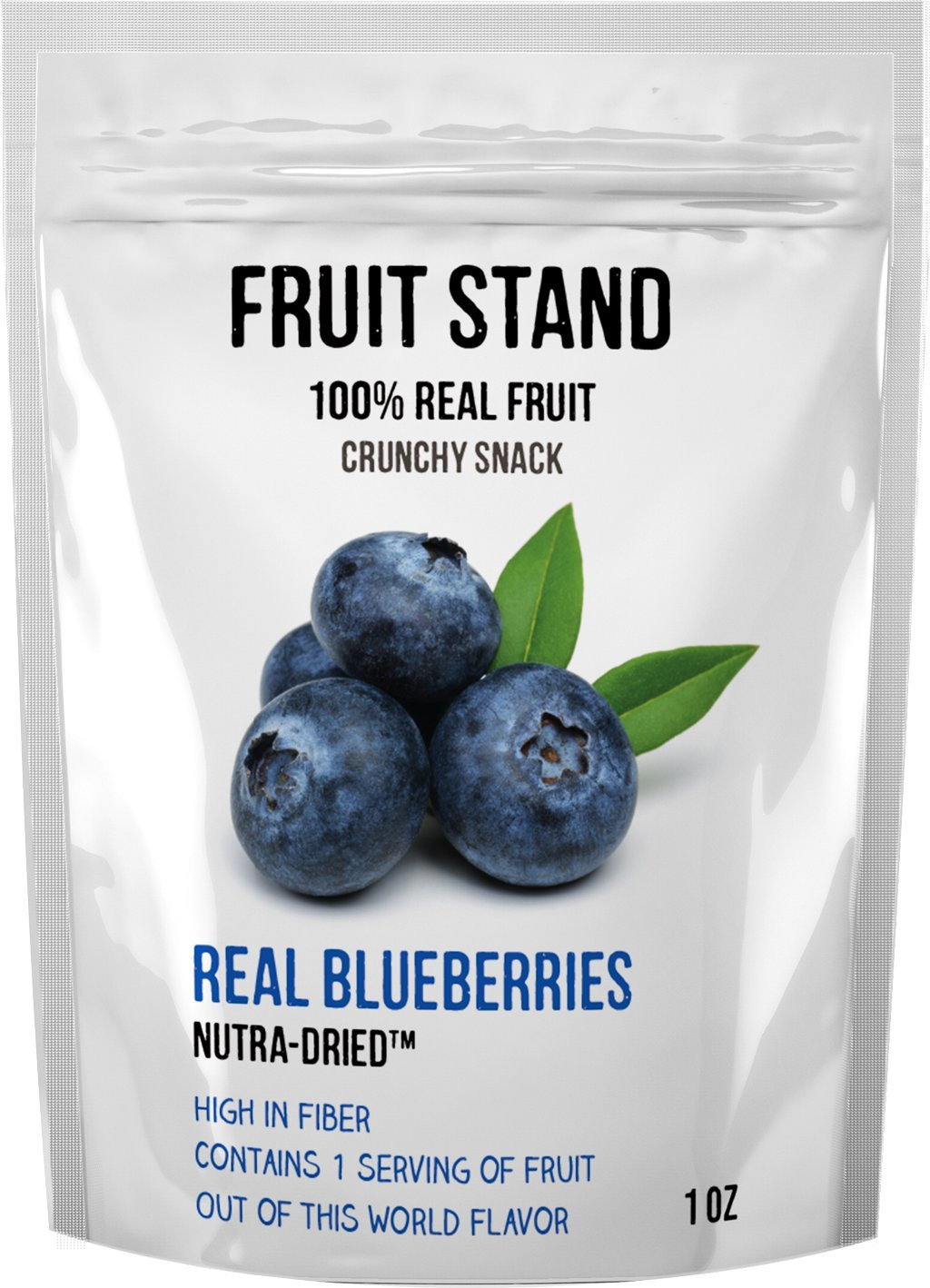 Fruit Stand Real Blueberries, 1 Ounce (Pack of 6) by Fruit Stand