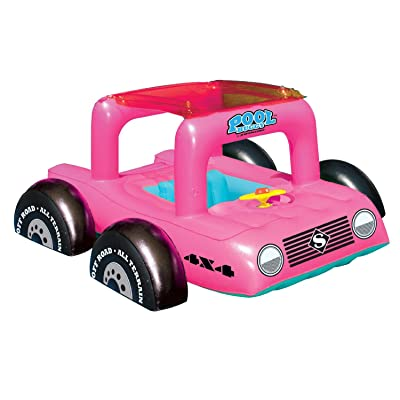 Pool Buggy Pool Ride-On Float (Pink): Toys & Games