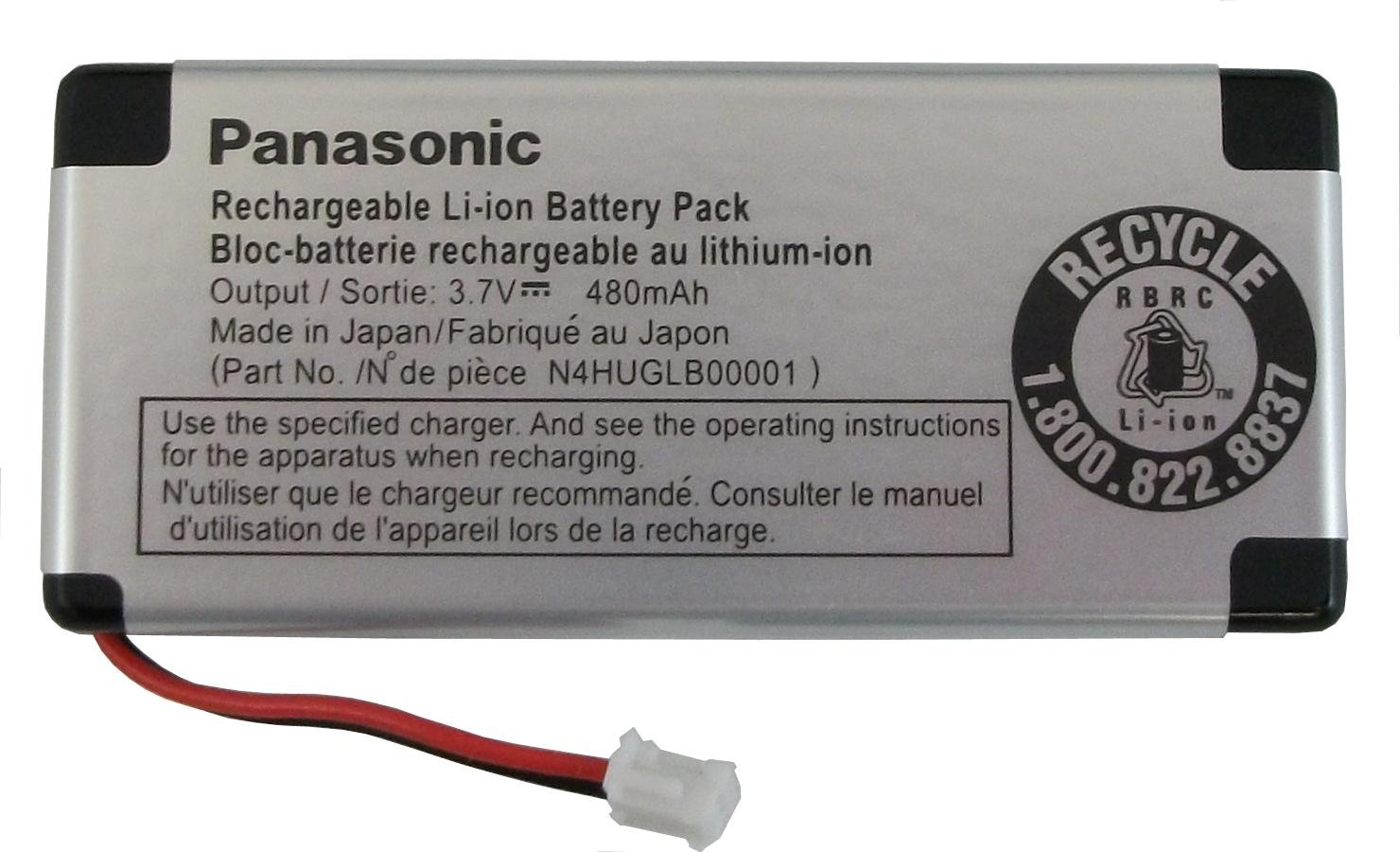Panasonic N4HUGLB00001 Battery by Panasonic