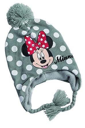 Polaire Bonnet Gris péruvien Avec protège-oreilles   cache-oreilles Minnie  Mouse Disney, 58053f85534