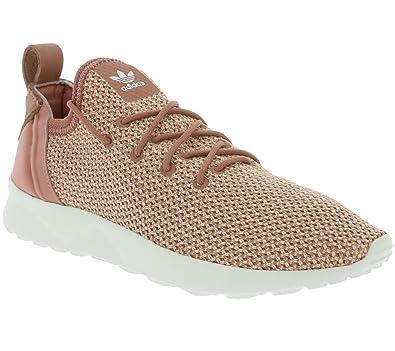 64bd1219a3826 adidas Originals ZX Flux ADV Virtue Sock W Women s Sneaker Pink BB0747