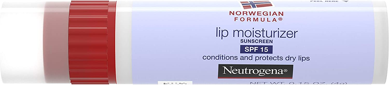Neut Lip Moist Size .15z Neutrogena Lip Moisturizer With Spf 15 .15oz