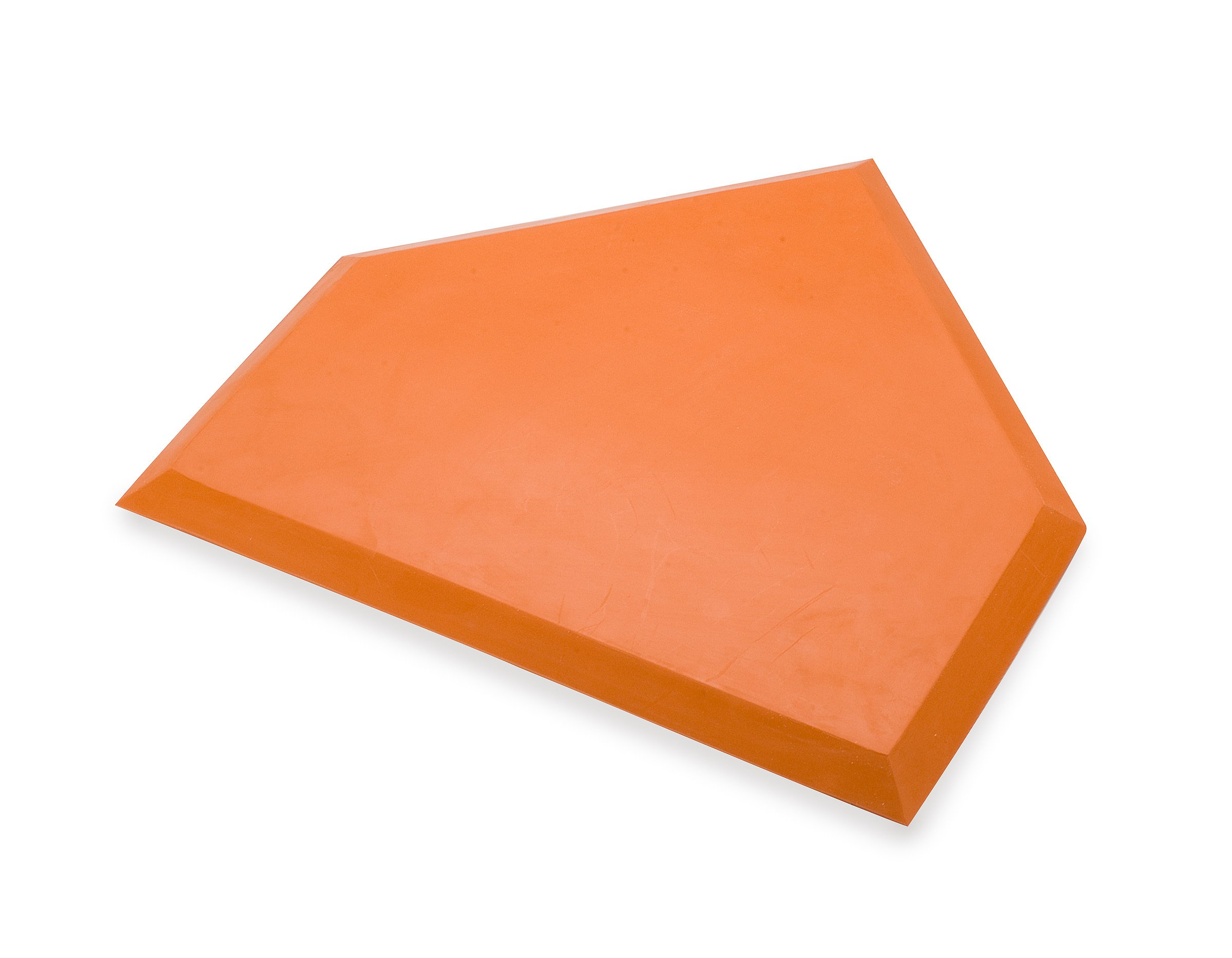 Athletic Specialties Heavy Duty Home Plate without Stakes  (Orange) by Athletic Specialties