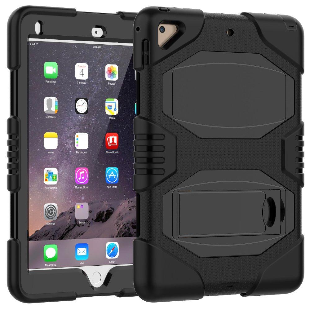 newest d316a f5f81 iPad Case 9.7 Inch 2018/2017,Slim Heavy Duty Shockproof: Amazon.co ...