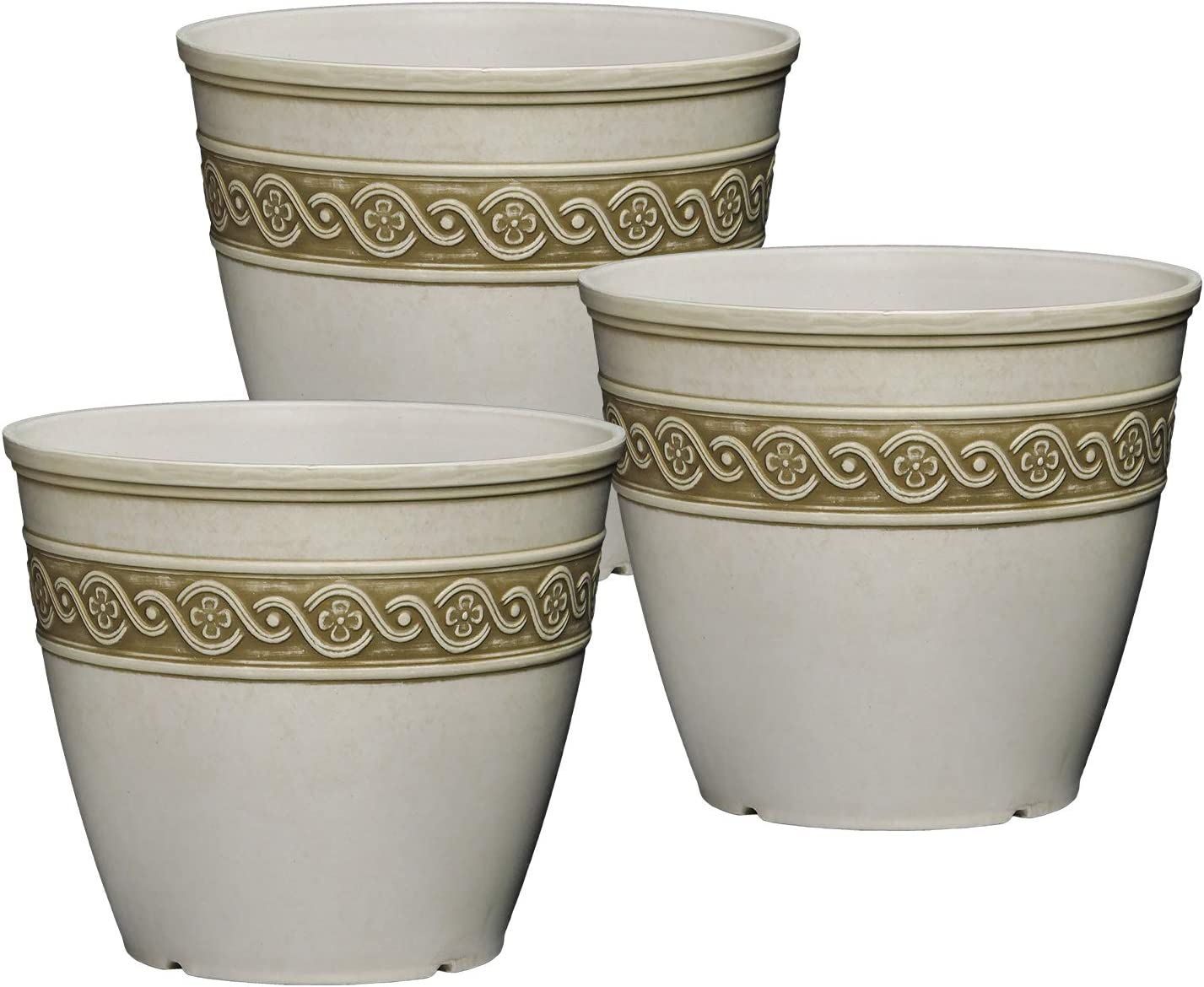 Classic Home and Garden 9408CP3D-514 Set of 3 8