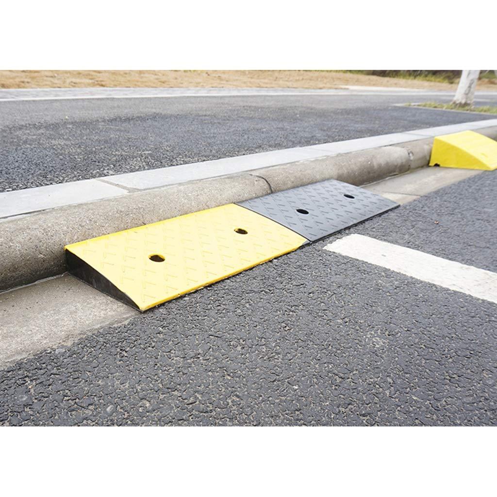 Goma Resistente al desgaste Rampa para rampas Estacionamiento doméstico Servicio Rampa Altura en el Rampas de acera Al aire libre Rampa para exteriores Size : 98 * 25 * 4CM