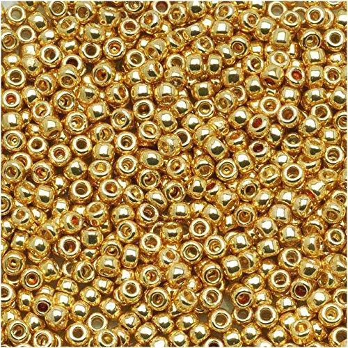 Toho Round Seed Beads 11/0 #PF557 'Galvanized Starlight' 8g 11/0 Toho Seed Beads