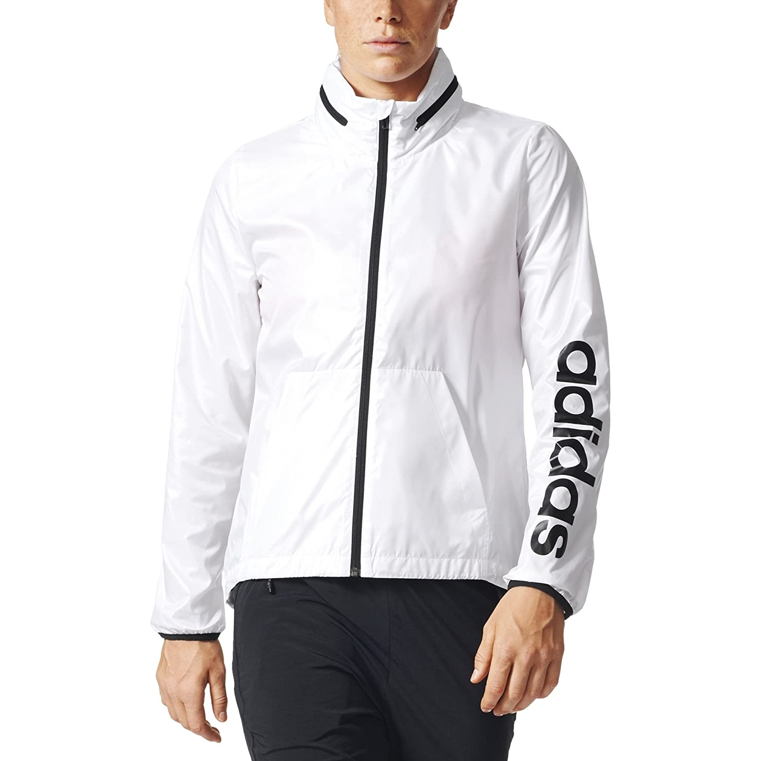 adidas Women's Linear Windbreaker Jacket