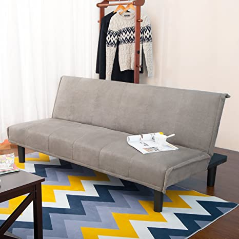 Amazon.com: Harper brillante diseño convertible sofá cama ...