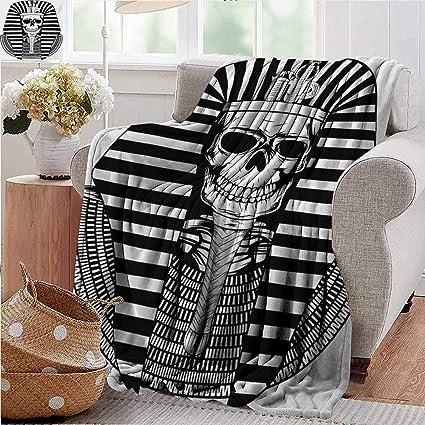 Awe Inspiring Amazon Com Throw Blanket For Couchking Egyptian Pharaoh Cjindustries Chair Design For Home Cjindustriesco