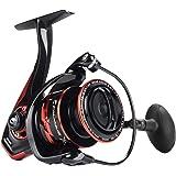 Calamus X2 Spinning Reel, 5.2:1 Gear Ratio Fishing Reel, 9+1 High Performance BB, Machined Aluminum Spool and Bail, Nylon Inf
