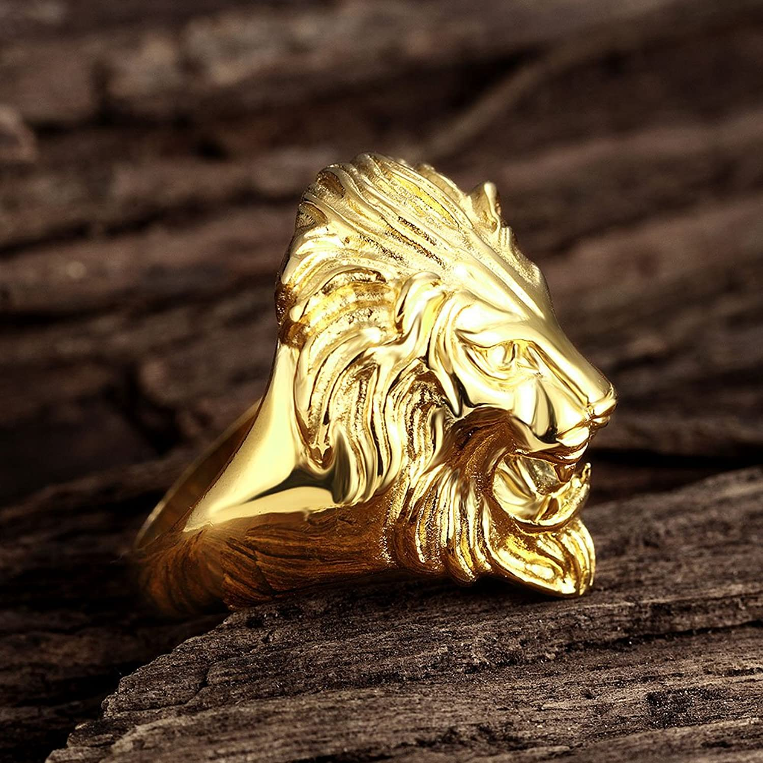 women pin ring and with lion rings crystals gucci head