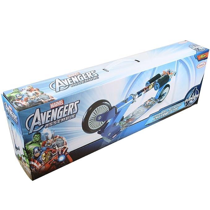 Avengers Assemble Scooter Patinete 2 ruedas Niños: Amazon.es ...