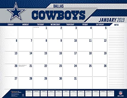 Dallas Cowboys 2019 Calendar Amazon.com: Turner Licensing Dallas Cowboys 2019 Desk Calendar