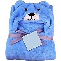 My NewBorn Super Soft Blanket Cum Wrapper (Firozi)