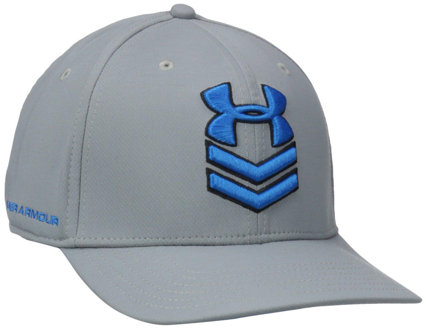 Under Armour Men's Undeniable Stretch Fit Cap Black /Graphite Medium/Large Under Armour Accessories 1254125 1254125_001-M/L