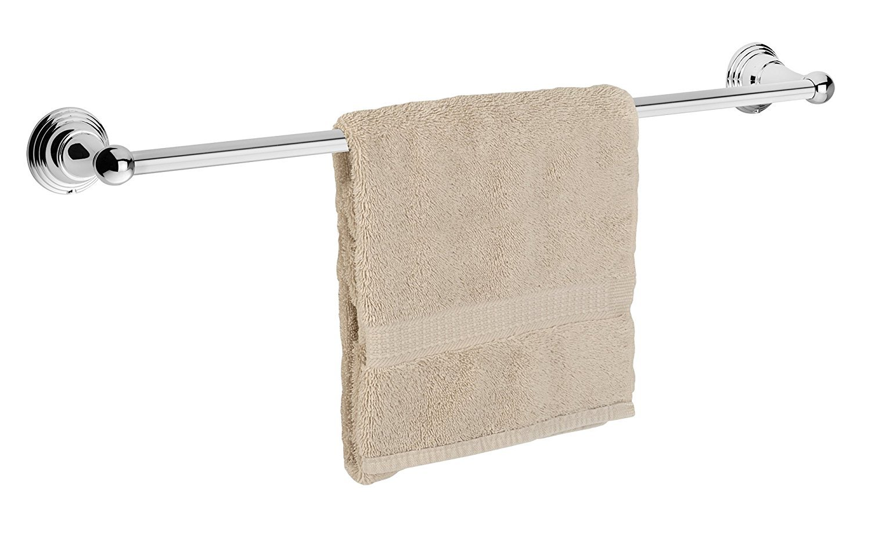 Dynasty Hardware 2224-CM Muirfield 18 Single Towel Bar Polished Chrome
