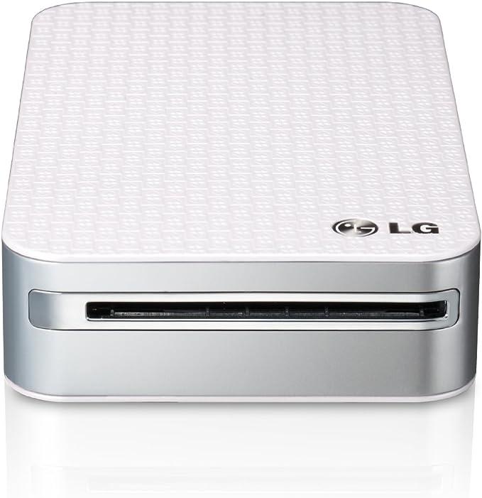 LG Pocket Photo PD 233 - Impresora fotográfica portátil, Blanco ...