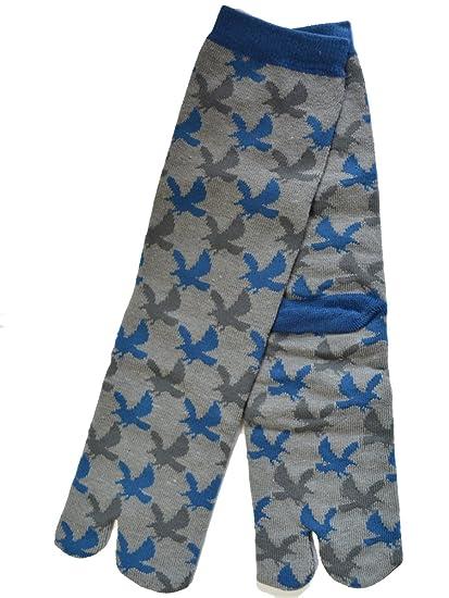 Japan Ninja 2toe Mens Socks 31504603 Navy Bird Takamonyou ...