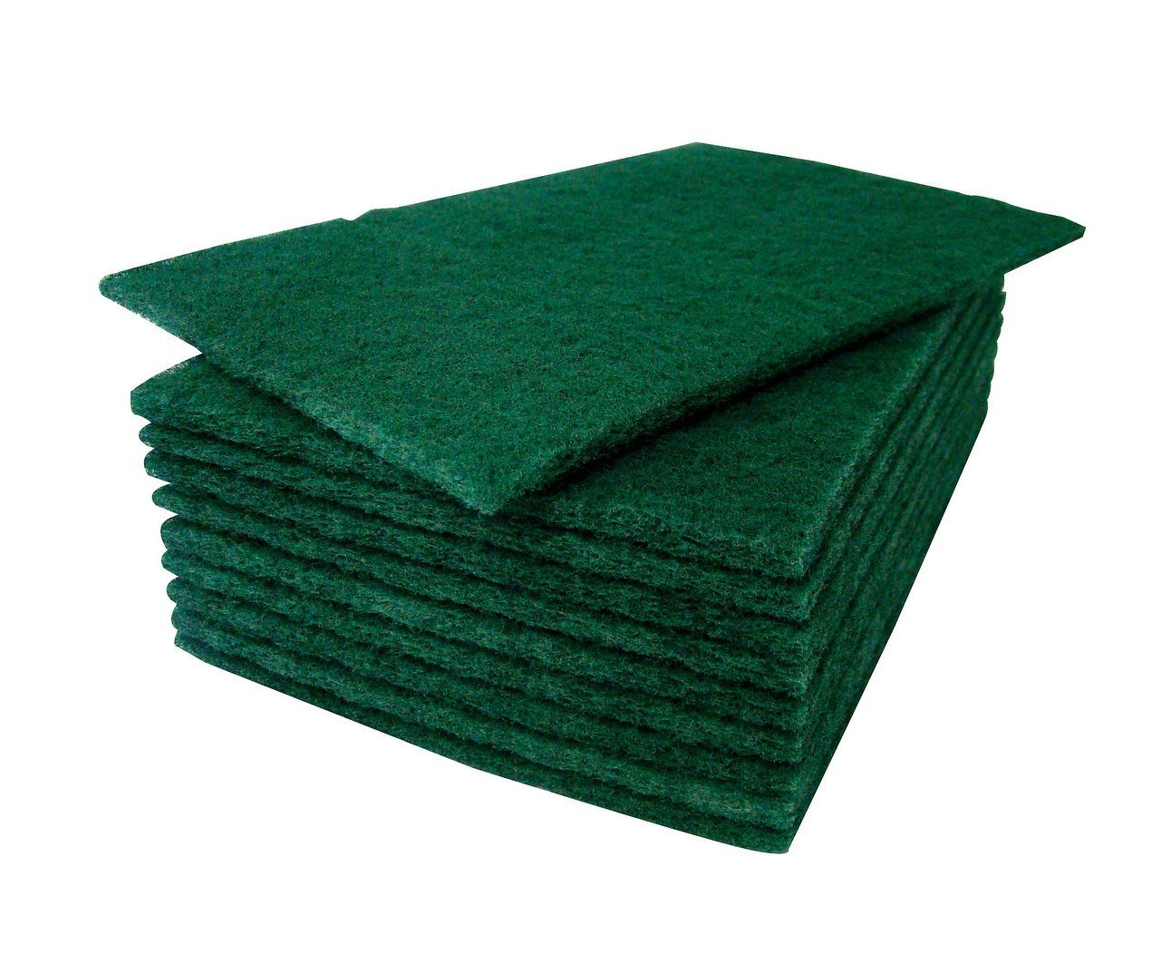 HeRO Dish Scrubber Scouring Pads - Household Scrub Pads for Stove Top Cleaner and Kitchen Scrubbers for Dishes, Cuts Solvents & Greasy Messes, Green 4.5 x 6 inch (Pack of 40)          by HERO IMPORTS (Image #7)