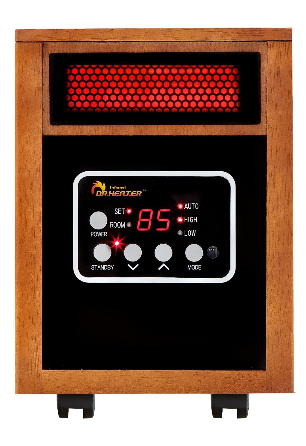 Dr Infrared Heater Portable Space Heater, 1500-Watt Renewed
