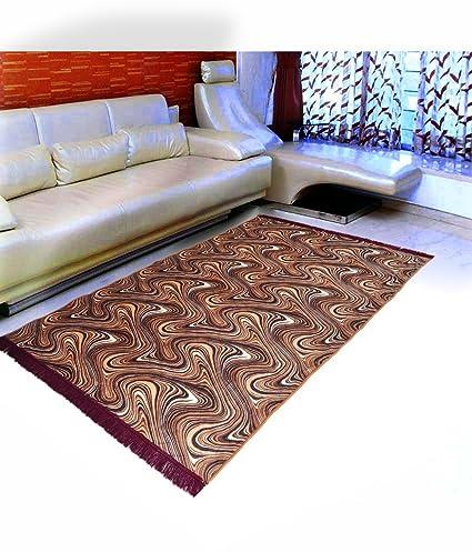 Home Elite Floral Microfibre Anti-Allergic Carpet - 55