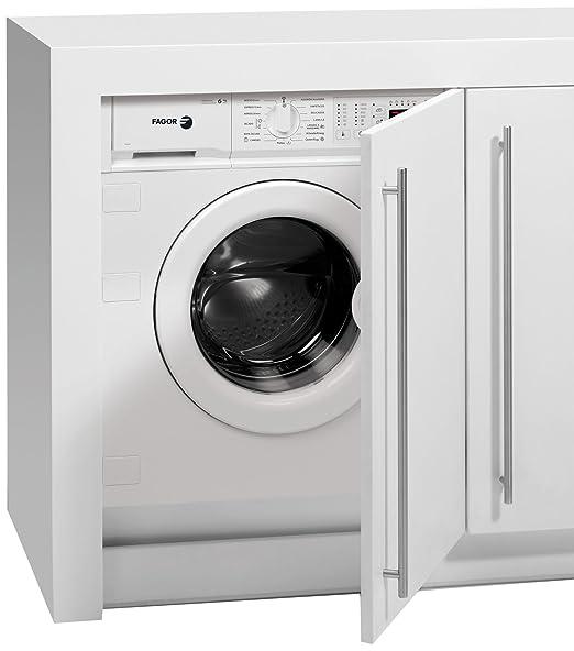 Fagor FS-6212 IT Integrado Carga frontal B Blanco lavadora ...