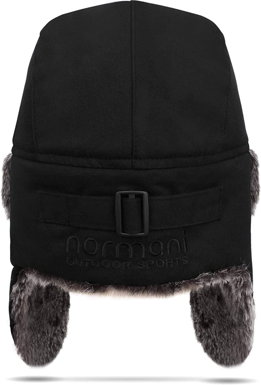 normani Fliegerm/ütze Winterm/ütze Fellm/ütze Uschanka Russian Style M-XL