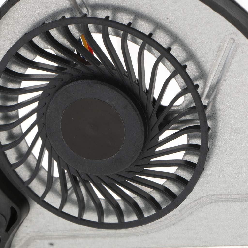 DC5V 4Pin Computer CPU Cooler Cooling Fan Black for HP Envy 15-k301tu k217tx