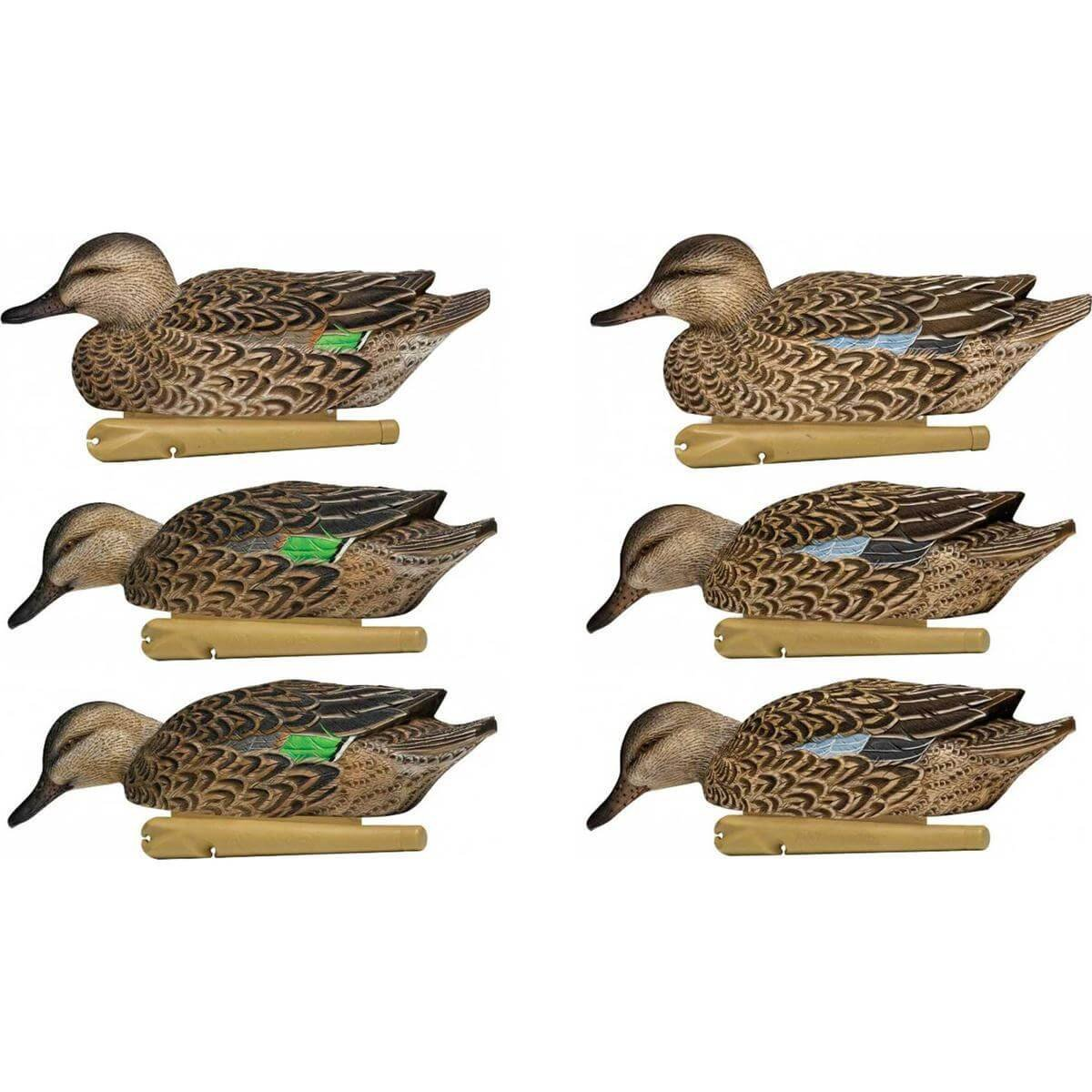 Avian-X Top Flight Teal Early Season Duck Decoys 6 Pack