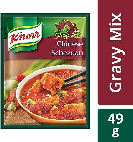 Knorr Chinese Schezuan Gravy Mix, Serves 4, 49g