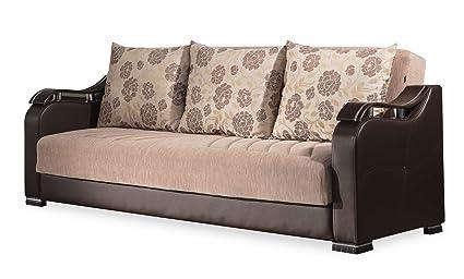 Casamode Horizon Sofa Bed Beige Chenille