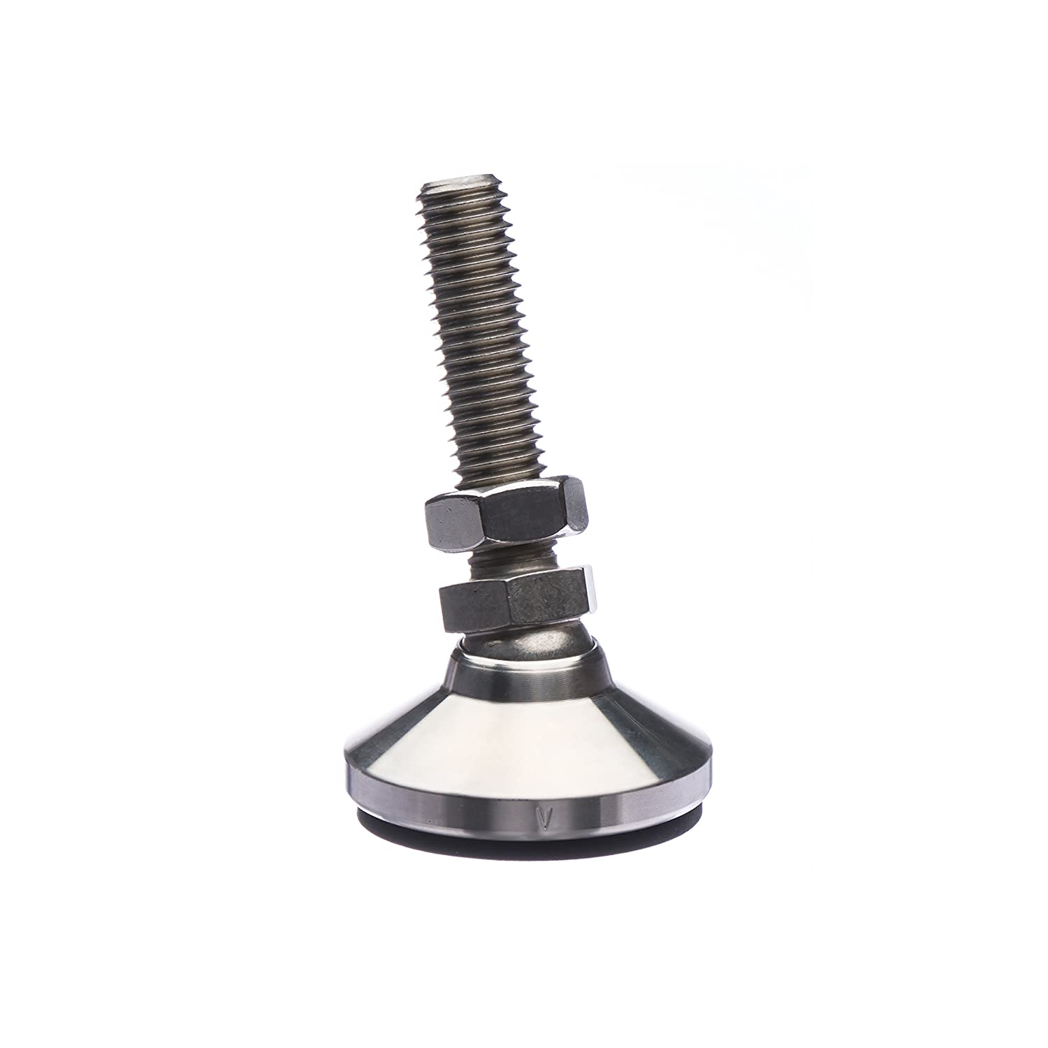 Stainless Steel Vlier HVESSP310B High Value Series Leveling Device 3//4-10 Thread Size 2 1//8 Long