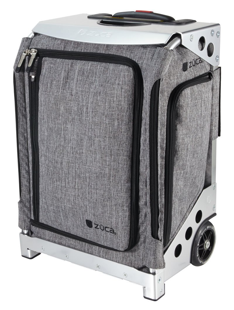 Zuca トラベルバッグ - ナビゲーター 機内持ち込み シルバーフレーム付き B078Y7MLK2