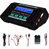 Lipo Battery Balance Charger with Voltage Checker,Keenstone 10A 100W AC/DC Charger/Discharger With Battery Meter Function for Li-Po Li-Hv Li-Ion Li-Fe NiMH Ni-Cd Pb