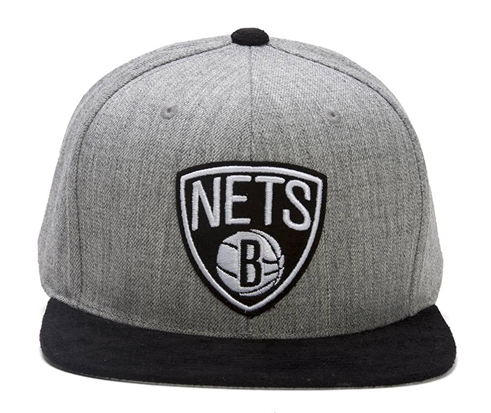 Mitchell & Ness Brooklyn Nets Heather - Gorra de microfibra, color ...