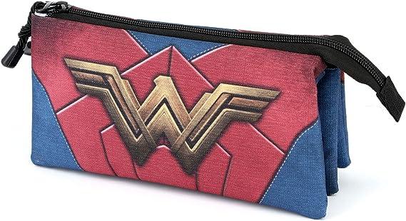 Wonder Woman Emblem-Estuche Portatodo Triple HS: Amazon.es: Equipaje