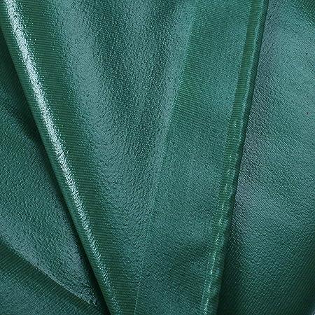 Lona Tama/ño : 2 * 2m tela ign/ífuga verde PVC lona YNFEI Lonas impermeable fibra de vidrio ign/ífuga 520 g // ㎡ a alta temperatura cubierta para pisos