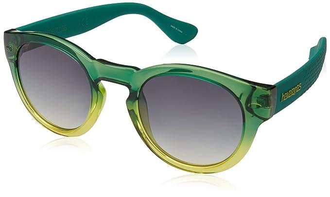 Havaianas Sunglasses Trancoso, Gafas de Sol Unisex Adulto, Verde (Green Yellow),