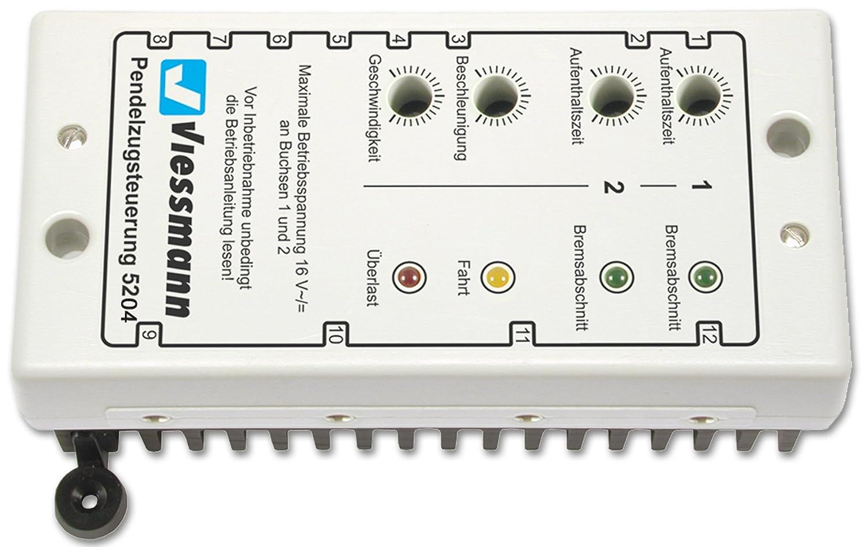 Viessmann 5204 - Pendelzugsteuerung für Wechselstrombahnen, Figuren und Ausschmückungen GM-VN5204