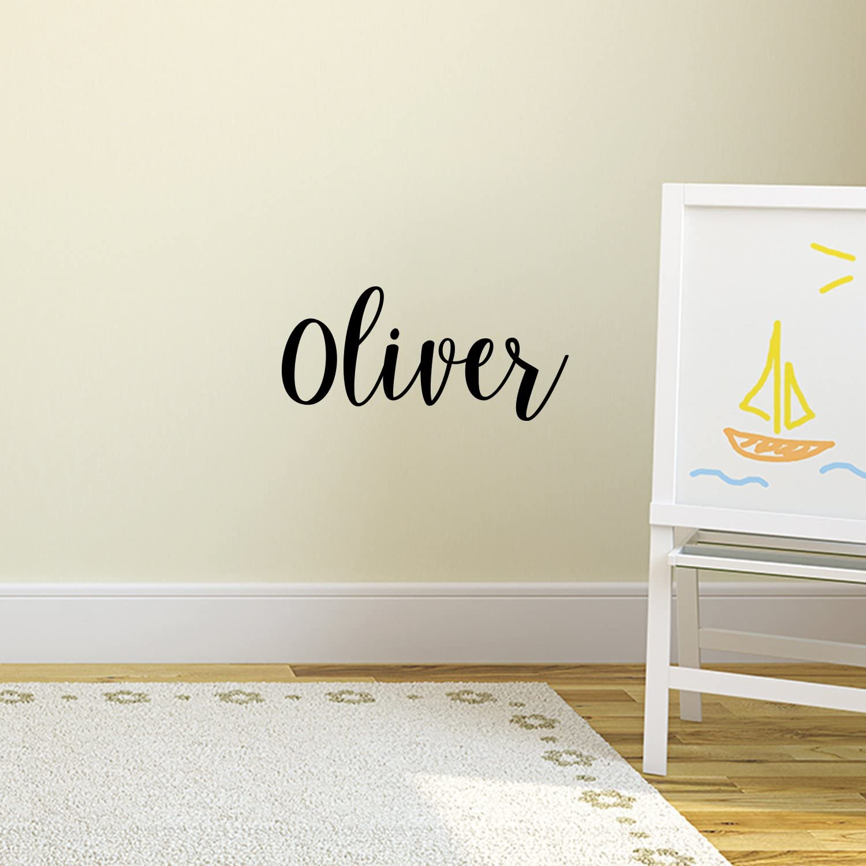 Great for baby nursery or boys bedroom Vinyl Lettering Nursery Wall Decals Childrens Decal Monogram Vinyl Wall Art