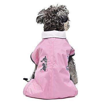 Jdon-pet, Ropa para perros cachorros Chaqueta para mascotas Ropa de esquí Ropa de