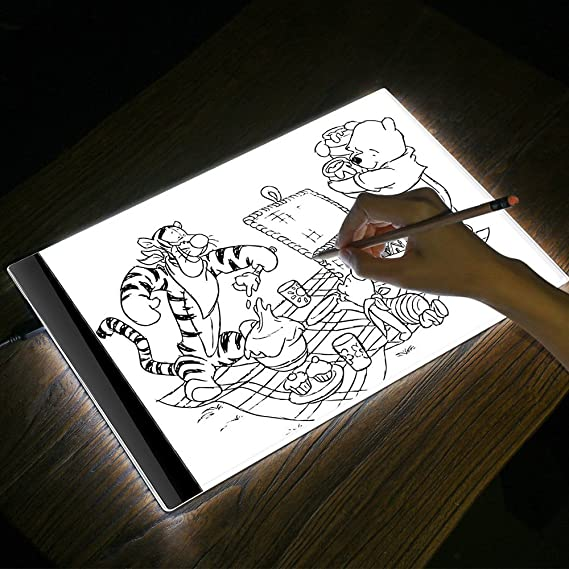 Amazon.com: Best Sketch Drawing Board K1 Led Light Drawing ...