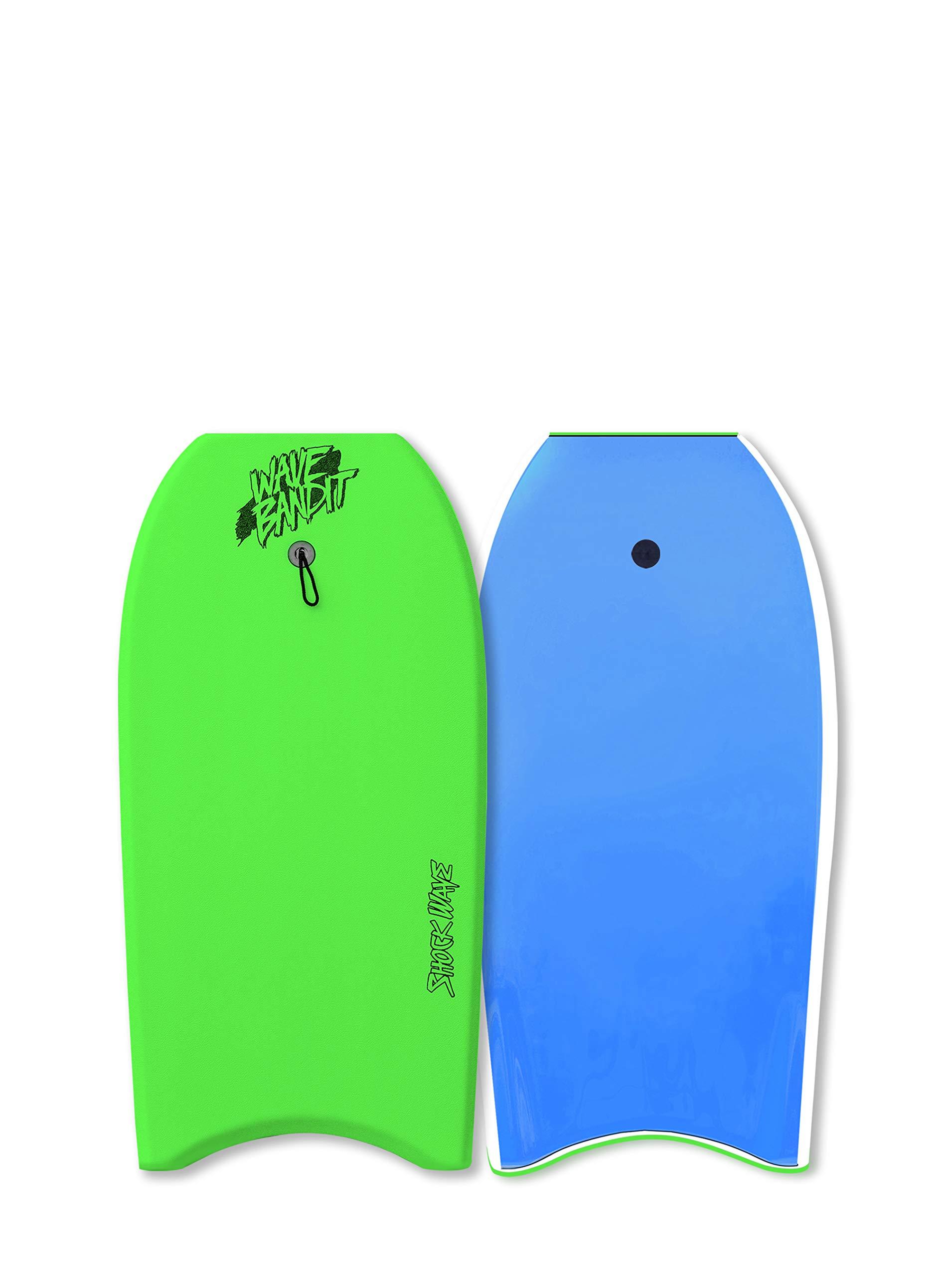 Catch Surf Wave Bandit Shockwave 42'' Short Surf Board, Neon Green