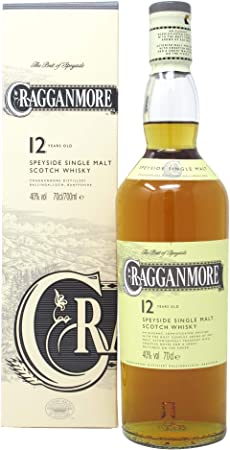 Cragganmore - Classic Malts Of Scotland Speyside Single Malt - 12 year old Whisky