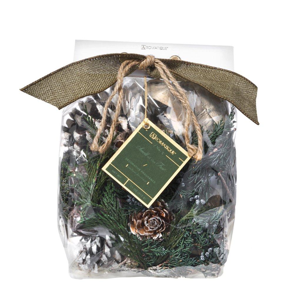 Aromatique Decorative Potpourri Bag- Smell of The Tree Decorative Fragrance (11oz Pocketbook Bag) by Aromatique