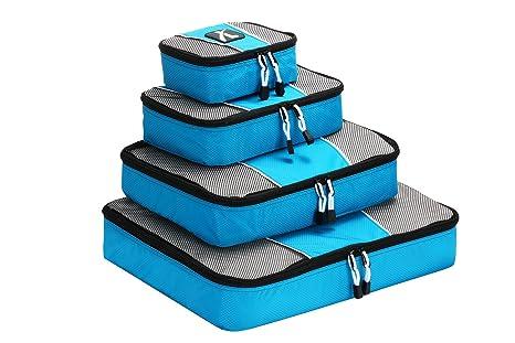 Bolsas de equipaje , Leebotree cubo de viaje 4 unidades Cubos de embalaje Organizadores de almacenamiento , para El Interior de Maletas - grande, ...