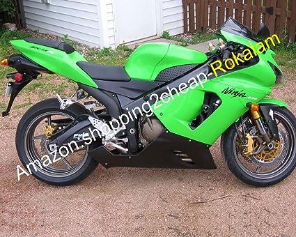 Hot Sales,Fashion Fairings verde negro para Kawasaki Ninja ...