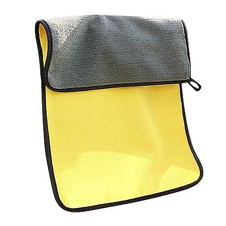 Kongqiabona Grueso Felpa Microfibra Paños de Limpieza para Autos Pulido Muebles de Cocina Toallas de Limpieza